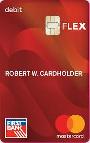 flex debit card image