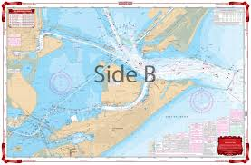 Galveston Bay Navigation Chart 111