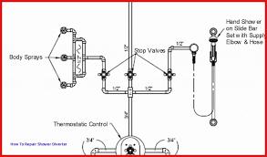 shower faucet diagram beautiful delta shower diverter valve repair ideas of
