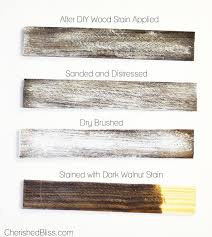 diy tutorial antiquing wood. how to weather wood diy tutorial antiquing