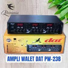 AMPLI WALET DAT PW 238 BONUS SUARA PANGGIL TARIK DAN INAP