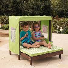 kids canopy chair double