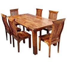 rustic dining room chairs. Idaho Modern Rustic Solid Wood Dining Table \u0026 Chair Set Room Chairs U