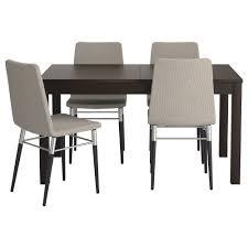 nice ideas dining table set ikea bjursta preben and 4 chairs ikea room round