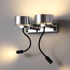 lwa299a bed headboard lamps polished