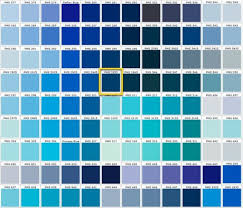 Shades Of Color Blue Chart Different Shades Of Blue Blue Shades Colors Green Color