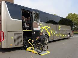 wheelchair lift bus. Wonderful Lift Counts As One Of The Worldu0027s Most Important Exhibitions For Bus U0026 Coach  Builders And Their Suppliers The Rising Expectations Demands Modern Society  And Wheelchair Lift