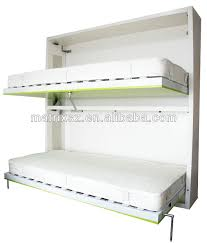 Folding Bunk Bed Bunk Horizontal Double Wall Folding Bed Wall Bed China Murphy Bed