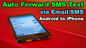 How Do You Forward A Text Auto Forward Sms Text Messages Android To Iphone Updated Youtube