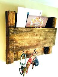 wooden mail holder key holder ideas key rack ideas wooden mail sorter plans best mail and