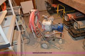 thursday 5 construction equipment auction in by purple graco gm3500 airless paint sprayer