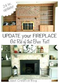 fireplace redo ideas elegant brick fireplace renovation before and after full wall brick fireplace makeover ideas