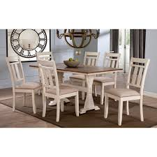 country distressed furniture. Plain Furniture Roseberry Shabby Chic French Country Cottage Antique Oak Wood And Distressed  White 7Piece Dining And Furniture Y