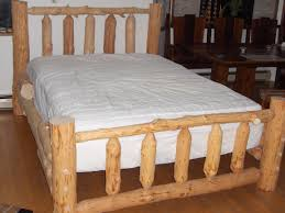 Rustic Cedar Log Bed Free Shipping Classic King ~ Ananthaheritage