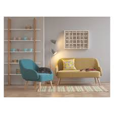 Red And Turquoise Living Room Momo Teal Blue Fabric 2 Seater Sofa Buy Now At Habitat Uk