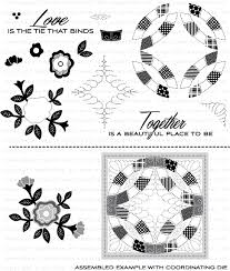 Quilted: Spring Stamp Set: Papertrey Ink Clear Stamps Dies Paper ... & Quilted: Spring Stamp Set Adamdwight.com