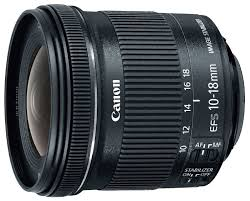 <b>Объектив Canon EF</b>-S 10-18mm f/4.5-5.6 IS STM — купить по ...