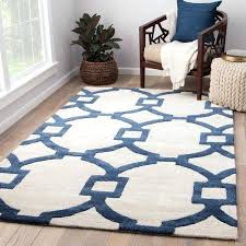 rugs 8 x 11 handmade trellis white dark blue area rug x area rugs 8 x 11