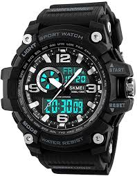 SKMEI Men's Digital <b>Sports Watch</b>, Military <b>Waterproof Watches LED</b> ...