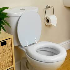soft raised toilet seat with lid