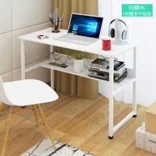 desktop computer table. Don\u0027t Be A New Creative Computer Table Desktop Home Desk Simple Easy Notebook Upgrade 100CM White Willow R
