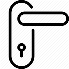 door handle lock icon