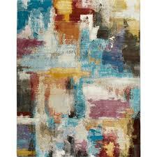 watercolor area rug. Parlin-Contemporary-Watercolor-Area-Rug-by-Nicole-Miller- Watercolor Area Rug