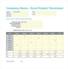 Microsoft Excel Timesheet Template Click To Enlarge Microsoft Excel