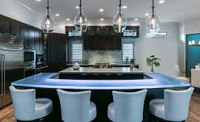 customize your glass kitchen countertops