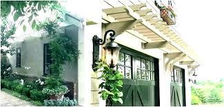 door pergola garage doors arbor a fresh er iron trellis over images cedar trellis over garage door