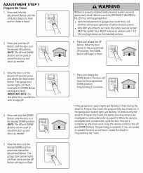 how to adjust garage door openerAdjusting Craftsman Garage Door Motor Height Travel  Home