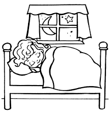 Small Picture Bed 90 Objects Printable coloring pages
