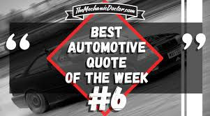 Mechanic Quotes Adorable Automotive Quotes Archives The Mechanic Doctor