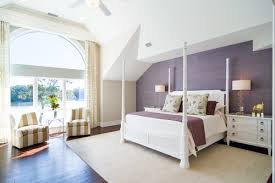 Master bedroom interior design purple Room Neutrals With An Accent Of Purple Beach Style Master Bedroom With Furniture You Fell Home Stratosphere 20 Purple Master Bedroom Ideas For 2019