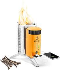 BioLite CampStove 2 Wood Burning and USB ... - Amazon.com