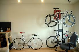 Bike hanger for apartment Clug Bike Rack Idea Homesfeed Bike Rack For Apartment Perfect Solution To Hang Your Bike In