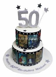 50th Birthday Cake With Photos