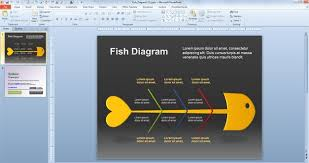 fish diagram for powerpointfish diagram for powerpoint  fishbone