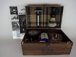 gentlemen s shave kit tartan old west ins unique mens gifts steunk gift mens
