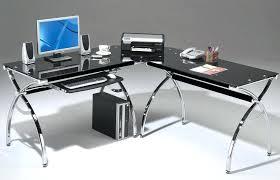 office depot glass computer desk. Simple Computer Computer Desks For Home Office Depot Glass  To Desk L