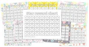 Downloadable Reward Charts Childrens Reward Chart Ideas Toddler Printable Star Charts