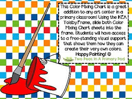 How To Make Color Mixing Chart Free Color Mixing Chart