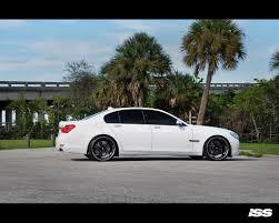 BMW 3 Series white 750 bmw : ISS Forged BMW 750 LI / 22
