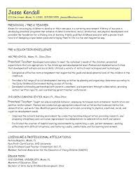 Early Childhood Teacher Resume Extraordinary How Much Job History On Resume Foodcityme