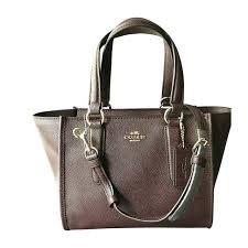 nwt coach luxury crossbod satchel carryall 21 oxblood wine leather purse f11925
