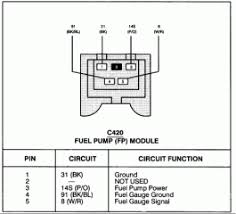 1999 mercury cougar fuel pump wiring diagram wiring diagram and 1999 mercury mystique fuse box diagram car