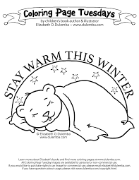 Small Picture dulemba Coloring Page Tuesday Sleeping Bear