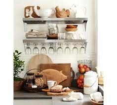 pottery barn wall shelves stainless steel wall system pottery barn for metal kitchen wall shelves regarding