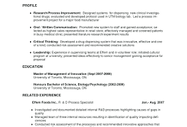 Critical Thinking Skills Resume Examples