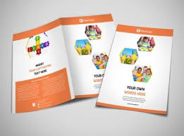 2 folded brochure template creative child development brochure template mycreativeshop